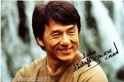 Jackie Chan ++Autogramm++ ++Film Superstar++2
