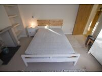 Double Ikea Bed with Mattress