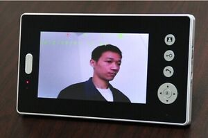 4-INCH COLOR VIDEO INTERCOM AND DOOR MONITOR -.SCREEN: 4'' TFT