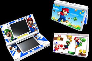 Super-Mario-Bro-Vinyl-Decal-Skin-Sticker-Cover-for-Nintendo-DS-Lite-DSL-NDSL