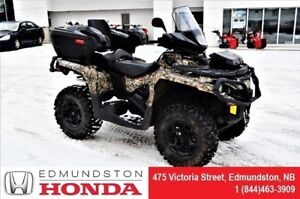 2014 Can-Am OUTLANDER MAX 650 XT 650cc windshield! back seat! wi