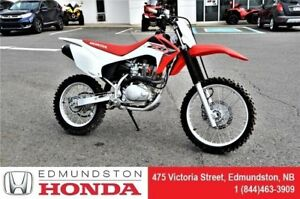 2016 Honda Motorcycle CRF150F New Arrival