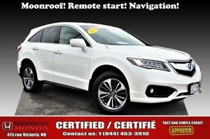 2016 Acura RDX Elite Pkg Moonroof! Navigation! Remote start