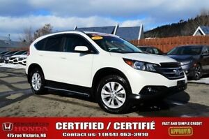 2014 Honda CR-V EX-L AWD 1-Owner! No Accident! AWD! Moonroof! He