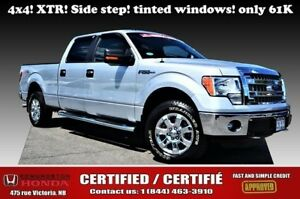 "2014 Ford F-150 4WD SuperCrew 157"""" XLT Tinted windows! Side ste"