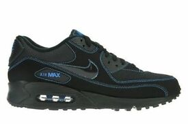 BNIB Nike Air Max Black and Blue 90s - Sizes 7 - 8 - 10 - 11