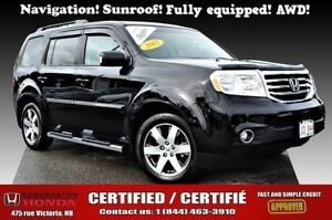2012 Honda Pilot Touring Navigation! Sunroof! Full Equipped