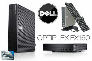 Dell OptiPlex FX160 Intel Atom 330 1.6GHz 2GB RAM 80GB HDD TC Th