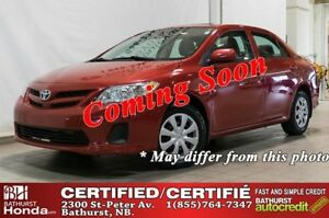 2013 Toyota Corolla CE 5 Speed Manual! CD/MP3 Stereo! Power Door