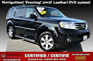 2015 Honda Pilot Touring Navigation! moonroof! leather! DVD syst