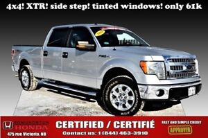 """2014 Ford F-150 4WD SuperCrew 157"""""""" XTR Tinted windows! Side ste"""