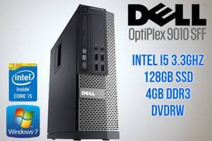WINDOWS 7 DELL i5 9010 WITH SSD! FAST BOOT! $499