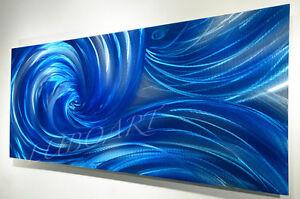 painting Metal art Modern brilliant 3D illusion Wall Decor
