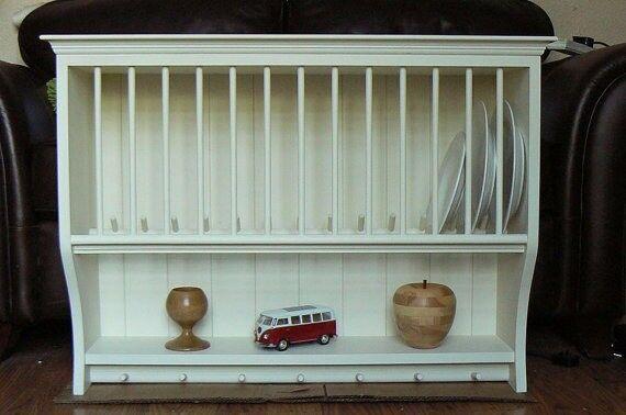 Plate rack, pine