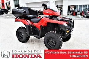 2018 Honda TRX420 FA6J Back seat, windshield, pegs, helmets, $49