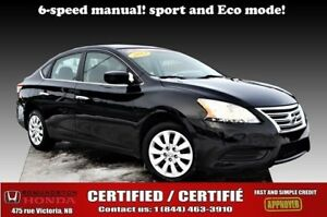 2013 Nissan Sentra SV 6-speed manual! sport and eco mode