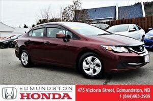 2013 Honda Civic Sedan LX New Tires! Heated Seats! Bluetooth! Po