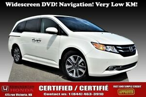 2017 Honda ODYSSEY TOURING widescreen DVD! Leather! Moonroof! Ba