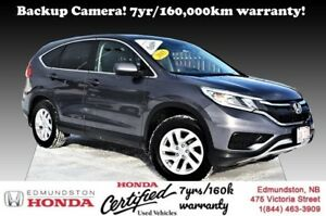 2015 Honda CR-V SE Backup Camera! Bluetooth! AWD! 7yr/160,000km
