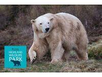 Highland Wildlife Park tickets for 2