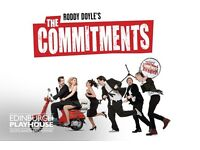 The Commitments 2 great seats! Thursday 2nd March Edinburgh