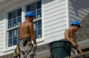 Something is. Road construction blue collar men shirtless question how