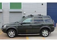 LAND ROVER FREELANDER 2.0 TD4 AUTO HSE - TOP HSE SPEC, SAT NAV, FULL LEATHER, ALLOYS ETC, FSH,