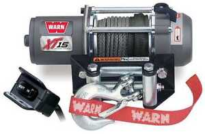 Winch-Power-Universal-Warn-Industry-ATV-XT15-Lightweight-Winch-Part-78500