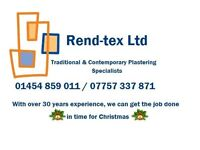 Rend-tex Ltd. Professional Traditional & Contemporary Plastering Specialists