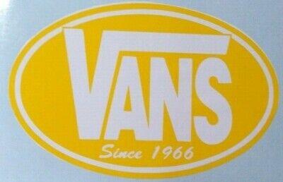 VANS Since 1966  STICKER / CAR DECAL Free UK postage