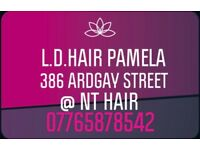 L.D.HAIR 386 ARDGAY STREET @NT HAIR