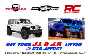 JEEP WRANGLER LIFT KITS, RIMS/TIRES, LED LIGHTS & ACCESSORIES!