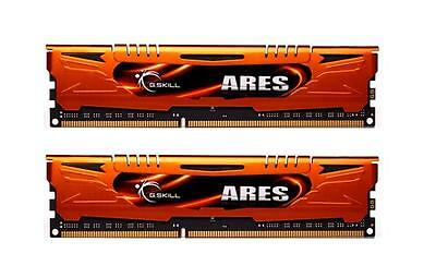 8GB G.Skill DDR3 PC3-12800 1600MHz Ares Low Profile (9-9-9) Dual Channel kit 1600 Pc3 12800 Dual Channel