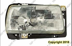 Head Light Passenger Side High Quality Volkswagen Jetta 1985-1992