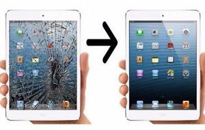 Réparation iPad/ipad air/ipad mini la vitre a partir 80$ À QUÉBEC