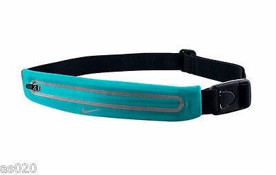 Nike Lean Running Waistpack Expandable Reflective Sports Bumbag Belt JADE  GREEN d13aff80b8d99