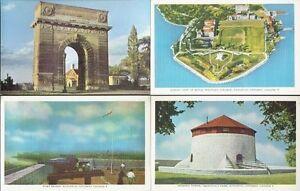 Twelve Early 1950s Vintage Unused 'KINGSTON, Ontario' Post Cards Kingston Kingston Area image 1