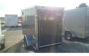 2015 Pace 5x10 Journey Cargo Trailer - V-nose - Rear Ramp London Ontario image 2