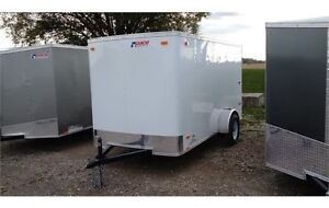 2016 Pace 6x12 Outback Cargo Trailer - Barn Doors London Ontario image 3