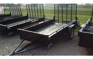 2015 Advantage 6x10 Steel Cargo Trailer - Ramp (LS610)