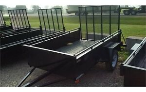 2015 Advantage 5x10 Steel Utility Trailer - Ramp (LS510)