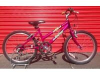 Raleigh Krush girls bike