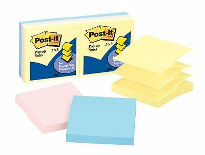 Post-it Pop-up Notes In Pastel Colors - Pop-up Self-adhesive Repositionable -