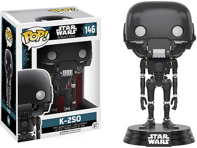 Rogue One   K 2So   Funko Pop  Star Wars  Toy Used Very Good