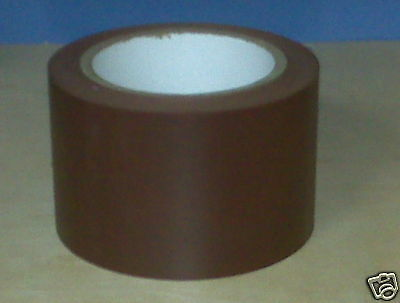 1 Roll Vinyl Tape - Brown - 3 72mm X 108 Ft