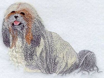 Embroidered Fleece Jacket - Lhasa Apso I1165 Sizes S - XXL