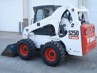 Affordable Skid Steer, landscaping and concrete services