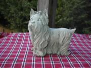 Concrete Dog Statues
