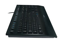 Logitech K280e Corded Keyboard for Windows - QWERTY, UK Layout