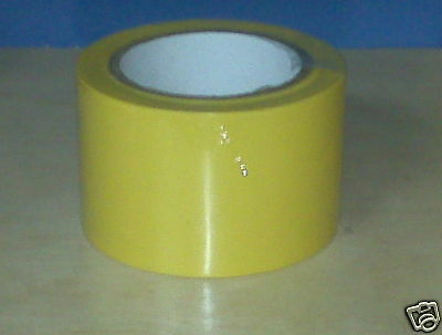 1 Roll Vinyl Tape - Yellow - 3 72mm X 108 Ft